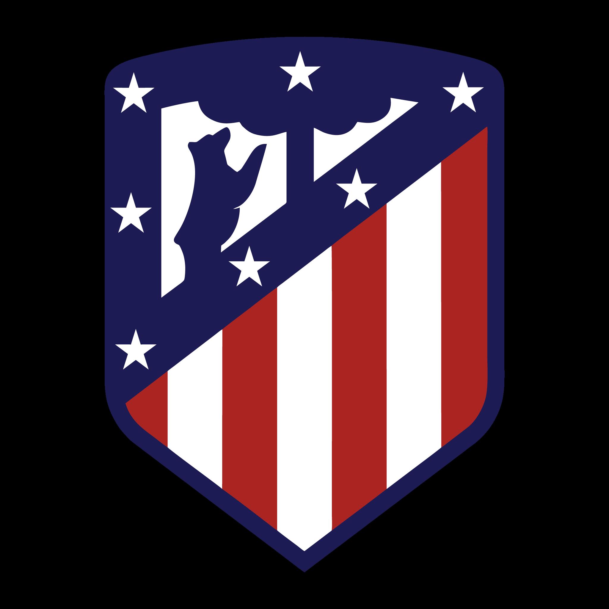Logo Atlético de Madrid Brasão em PNG – Logo de Times