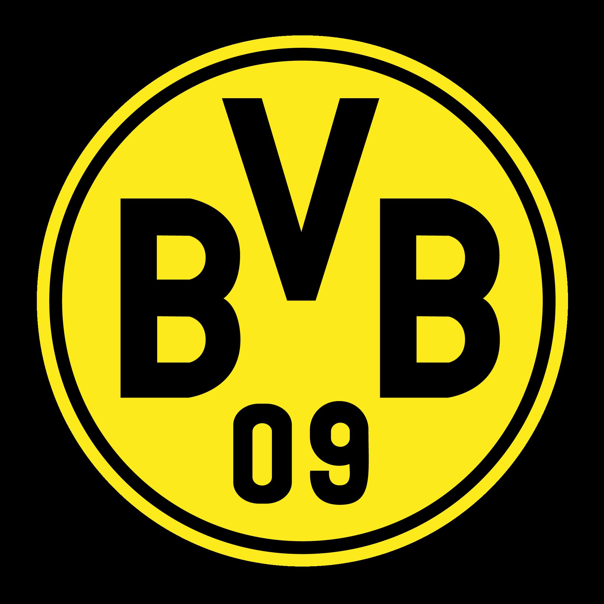 Logo Borussia Dortmund Brasão em PNG - Logo de Times