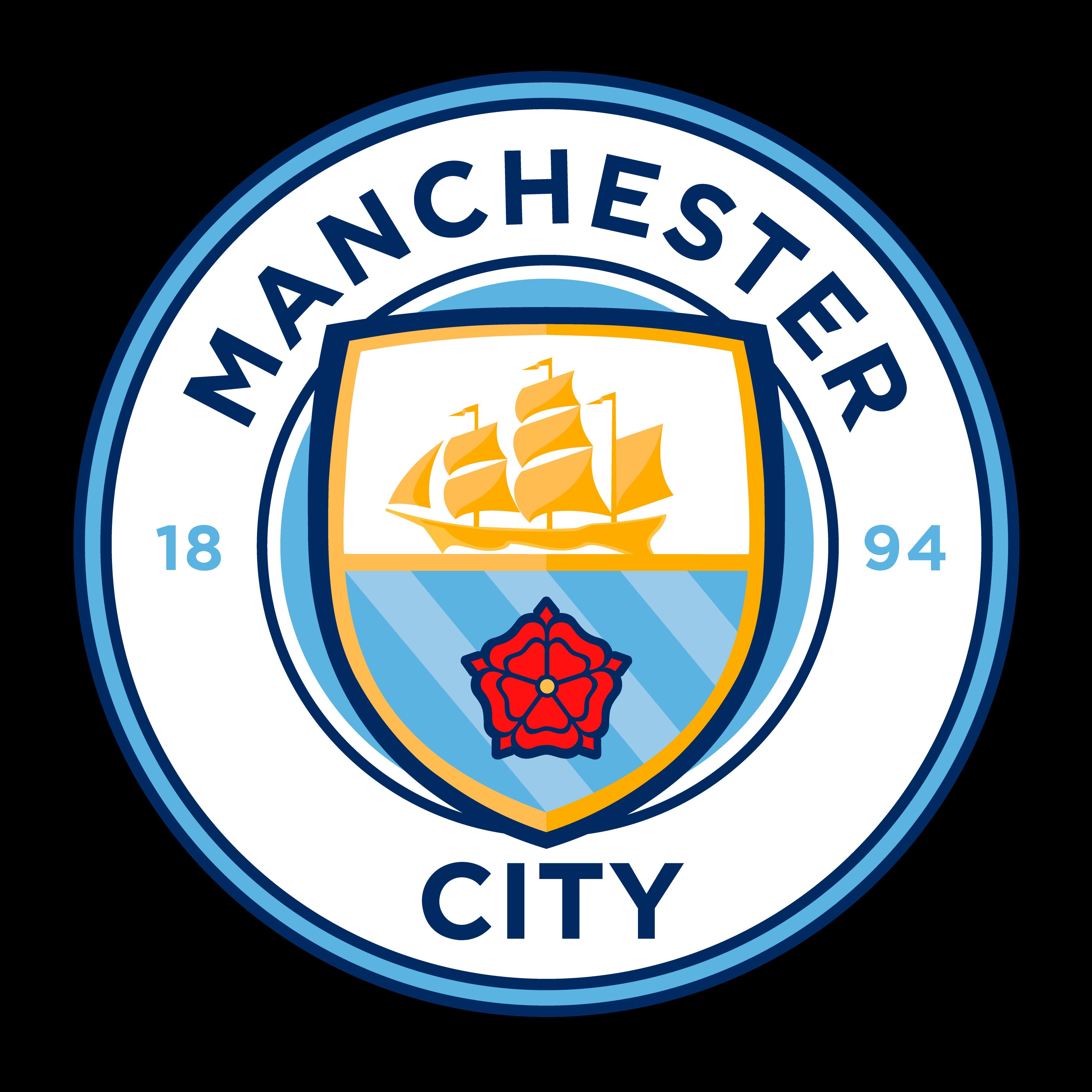 Logo Manchester City Brasão em PNG - Logo de Times